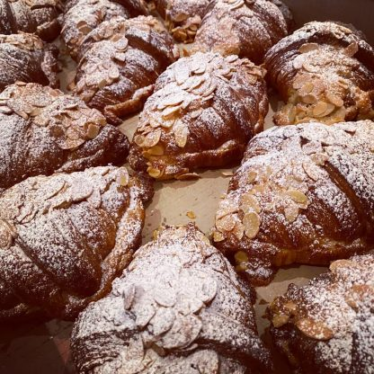 A selection of Almond Croissants