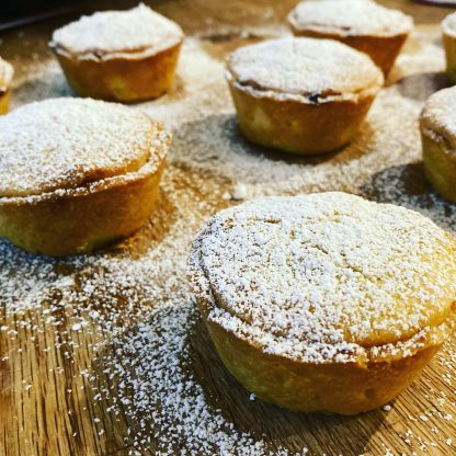 A selection of mince pies