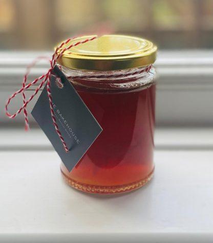 A single pot of whiskey marmalade